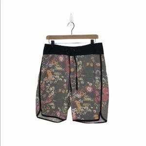 Ezekiel Floral Swim Shorts